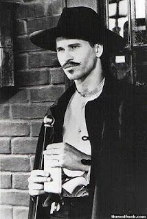 """I'm your huckleberry!""  Val Kilmer as Doc Holiday in Tombstone"