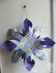 Paper crafts - Finnish Star - Tutorial