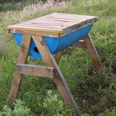 """Make your own Honey Cow (Top Bar Bee Hive).…+{"""" =="""