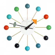 Ball Clock George Nelson 1948