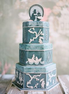 bear, silhouett, cupcak, future husband, beach weddings, wedding cakes, blue weddings, cake designs, sweet cakes