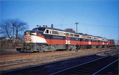 New Haven Alco PA1 Diesel Locomotives.