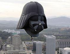 Darth Vader air balloon!