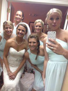 Wedding day selfie!