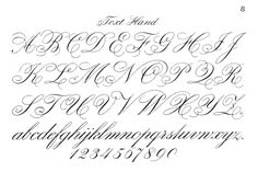 Typography Printable - Fancy Script - Monograms - The Graphics Fairy
