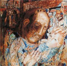 pavel filonov | Mother - Pavel Filonov - WikiPaintings.org