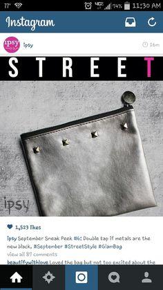 Ipsy September 2014 Bag