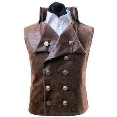 Mens Steampunk Victorian Vest