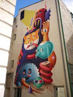 """by Nocolas Barrome Forgues + Amandine Urruty - For """"Le 4ieme Mur"""" festival - Niort, France - 2013"""