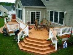 ... with Warm and Inviting Deck Railing Ideas | Decorating Design Ideas