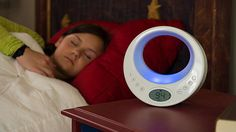 Tired of waking up to an annoying noisy alarm? This gadget peacefully wakes you up with simulated sunlight.
