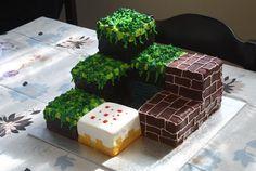 Minecraft cake idea