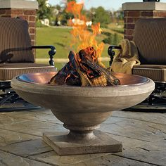 massively cool fire pit!