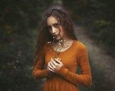 *** by Dmitry Ageev, via 500px  Like the pose and the dress