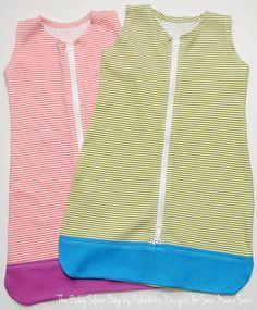 Sweet Baby Sleep Bag Pattern + Tutorial | Sew Mama Sew |