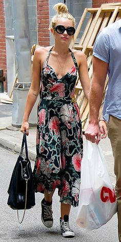 outfit, the dress, floral dresses