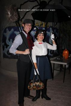 Bert and Mary Poppins halloween costume