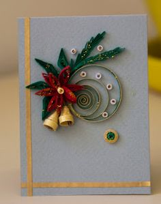 Quilled Christmas Card!