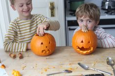 Carving pumpkins! #GoMighty4Kids