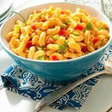 Easy Mexican Pasta Salad