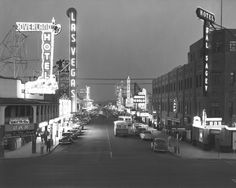 Old view of Fremont Street