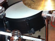 Plasti dipped my snare drum!