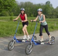 Do these exist?! I've seen the elliptical bikes, but never anything like this! WANT.