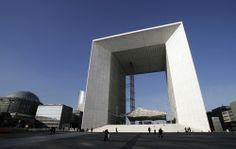 La Défense (district business) in Paris famous for his architecture.
