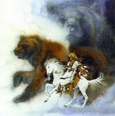 'Two Bears of the Blackfeet' by Beverly Doolittle