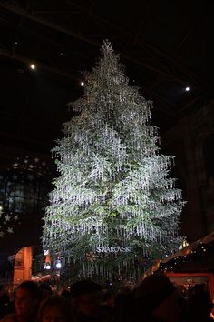 Swarovski Tree | 20 Christmas Trees That Went Beyond Their Call Of Duty