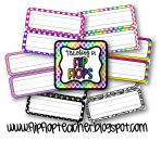Name Tags product from Teaching-in-Flip-Flops on TeachersNotebook.com