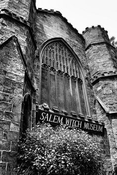 Salem Witch Museum...some fall when the girls are old enough...