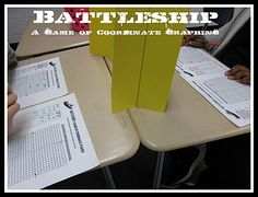 Battleship game for coordinate graphing!