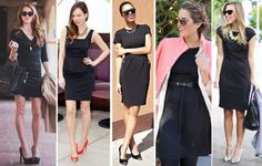 Penny Chic by Shauna Miller - Little Black Dresses styling tips #fittingroomspring