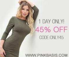 PinkBasis.com Special Black Friday 2013 45% off Coupon Code