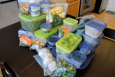 Prep Once on the Weekend, Eat Healthy All Week | Real Life for the New Wife