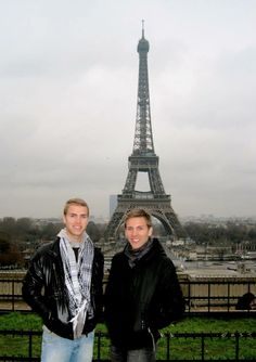 Tom Bridegroom & Shane Bitney Crone in Paris - See more: https://www.facebook.com/photo.php?fbid=473223256091831&set=pb.115224061891754.-2207520000.1384900877.&type=3&theater