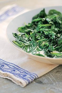 Creamed Spinach with Nutmeg