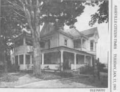 Thomas Wolfe House, Asheville, NC
