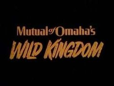 Mutual of Omaha's Wild Kingdom....loved it!!!
