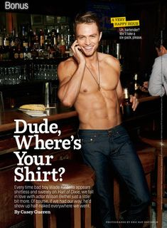 Wade from Hart of Dixie
