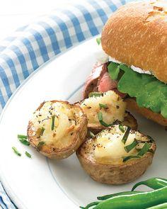 Twice-Baked Potato Bites - Martha Stewart Recipes