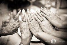 great grandma, grandma, grandma, mom, me.