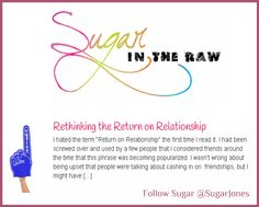 Sugar in the Raw Tal