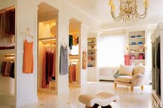 Elegant Dressing space  : Architectural Digest