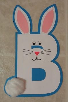 B is for... | Literacy Center Craftivity