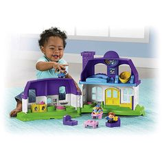 Fisher-Price Little People Happy Sounds Home.