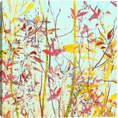 Radiant Foliage Iii by Sia Aryai