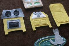 Melissa Crow felt board pieces
