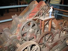 We have one of the larger gears as part of a display that holds up our flag pole.